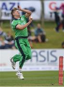 14 May 2017; Barry McCarthy of Ireland during the One Day International match between Ireland and New Zealand at Malahide Cricket Club in Dublin. Photo by Brendan Moran/Sportsfile