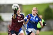 14 May 2017; Laura Lee Walsh of Westmeath in action against Neasa Byrd of Cavan during the Lidl National Football League Division 2 Final Replay match between Westmeath and Cavan at St. Brendans Park in Birr, Co. Offaly. Photo by Matt Browne/Sportsfile