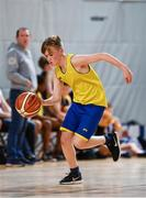 6 May 2017;  Kevin Lovett of St Patrick's, Co Cavan, competing in the U13 and O10 mixed Basketball during the Aldi Community Games May Festival 2017 at National Sports Campus, in Abbotstown, Dublin. Photo by Sam Barnes/Sportsfile