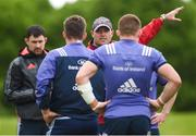 15 May 2017; Munster defence coach Jacques Nienaber during squad training at the University of Limerick in Limerick. Photo by Diarmuid Greene/Sportsfile