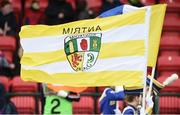 16 April 2017; A general view of an Antrim flag before the Ulster GAA Hurling Senior Championship Final match between Antrim and Armagh at the Derry GAA Centre of Excellence in Owenbeg, Derry. Photo by Oliver McVeigh/Sportsfile