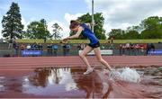 17 May 2017; Eva Cummins of OLC Drogheda competing in the Inter Girls 1500m Steeplechase during the Irish Life Health Leinster Schools Track and Field Day 1 at Morton Stadium in Santry, Dublin. Photo by David Fitzgerald/Sportsfile