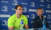 18 May 2017; Rhys Ruddock of Leinster during a Leinster Rugby Press Conference at RDS Arena, Ballsbridge, in Dublin. Photo by Sam Barnes/Sportsfile