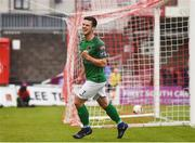 19 May 2017; Jimmy Keohane of Cork City celebrates after scoring his sides first goal during the SSE Airtricity League Premier Division game between Cork City and Drogheda United at Turners Cross in Cork. Photo by Eóin Noonan/Sportsfile