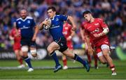 19 May 2017; Luke McGrath of Leinster makes a break during the Guinness PRO12 Semi-Final match between Leinster and Scarlets at the RDS Arena in Dublin. Photo by Stephen McCarthy/Sportsfile
