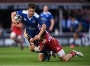 19 May 2017; Luke McGrath of Leinster is tackled by Steff Evans of Scarlets during the Guinness PRO12 Semi-Final match between Leinster and Scarlets at the RDS Arena in Dublin. Photo by Stephen McCarthy/Sportsfile