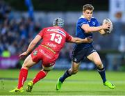 19 May 2017; Garry Ringrose of Leinster is tackled by Jonathan Davies of Scarlets during the Guinness PRO12 Semi-Final match between Leinster and Scarlets at the RDS Arena in Dublin. Photo by Stephen McCarthy/Sportsfile