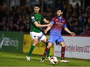 19 May 2017; Adam Wixted of Drogheda United in action against Shane Griffin of Cork City during the SSE Airtricity League Premier Division game between Cork City and Drogheda United at Turners Cross in Cork. Photo by Eóin Noonan/Sportsfile