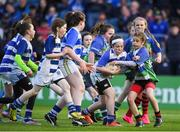 19 May 2017; Mini's teams Gorey RFC and Athy RFC in action during the Guinness PRO12 Semi-Final match between Leinster and Scarlets at the RDS Arena in Dublin. Photo by Brendan Moran/Sportsfile