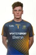 19 May 2017; Evan Comerford of Tipperary. Tipperary Football Squad Portraits 2017 at the Radisson Hotel in Limerick. Photo by Piaras Ó Mídheach/Sportsfile