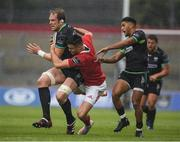 20 May 2017; Alun Wyn Jones of Ospreys is tackled by Conor Murray of Munster during the Guinness PRO12 semi-final match between Munster and Ospreys at Thomond Park in Limerick. Photo by Brendan Moran/Sportsfile
