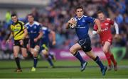 19 May 2017; Luke McGrath of Leinster during the Guinness PRO12 Semi-Final match between Leinster and Scarlets at the RDS Arena in Dublin. Photo by Stephen McCarthy/Sportsfile