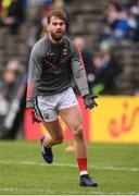 21 May 2017; Aidan O'Shea of Mayo warms up prior to the Connacht GAA Football Senior Championship Quarter-Final match between Mayo and Sligo at Elvery's MacHale Park in Castlebar, Co Mayo. Photo by Stephen McCarthy/Sportsfile
