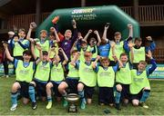 21 May 2017; Players of Dublin District Schoolboys League celebrate after winning the Subway SFAI U13 Final match between Sligo Leitrim Schoolboys League and Dublin District Schoolboys League in Cahir, Co. Tipperary. Photo by David Maher/Sportsfile