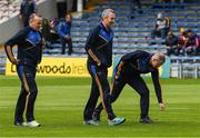 21 May 2017; Tipperary manager Michael Ryan, centre, and selectors John Madden, left, and Conor Stakelum walk the pitch before the Munster GAA Hurling Senior Championship Semi-Final match between Tipperary and Cork at Semple Stadium in Thurles, Co Tipperary. Photo by Ray McManus/Sportsfile