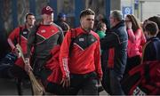 21 May 2017; Alan Cadogan of Cork and his team-mates arrive prior to the Munster GAA Hurling Senior Championship Semi-Final match between Tipperary and Cork at Semple Stadium in Thurles, Co. Tipperary. Photo by Brendan Moran/Sportsfile