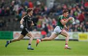 21 May 2017; Lee Keegan of Mayo in action against David Kelly of Sligo during the Connacht GAA Football Senior Championship Quarter-Final match between Mayo and Sligo at Elvery's MacHale Park in Castlebar, Co. Mayo. Photo by Stephen McCarthy/Sportsfile