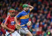 21 May 2017; Noel McGrath of Tipperary reacts to a missed kick on goal in the third minute of the Munster GAA Hurling Senior Championship Semi-Final match between Tipperary and Cork at Semple Stadium in Thurles, Co Tipperary. Photo by Ray McManus/Sportsfile