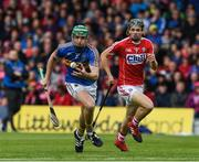 21 May 2017; Noel McGrath of Tipperary in action against Mark Coleman of Cork during the Munster GAA Hurling Senior Championship Semi-Final match between Tipperary and Cork at Semple Stadium in Thurles, Co Tipperary. Photo by Ray McManus/Sportsfile