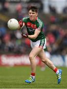 21 May 2017; Fergal Boland of Mayo during the Connacht GAA Football Senior Championship Quarter-Final match between Mayo and Sligo at Elvery's MacHale Park in Castlebar, Co. Mayo. Photo by Stephen McCarthy/Sportsfile