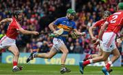 21 May 2017; Noel McGrath of Tipperary in action against Christopher Joyce of Cork during the Munster GAA Hurling Senior Championship Semi-Final match between Tipperary and Cork at Semple Stadium in Thurles, Co Tipperary. Photo by Ray McManus/Sportsfile