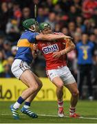 21 May 2017; Alan Cadogan of Cork in action against Cathal Barrett of Tipperary during the Munster GAA Hurling Senior Championship Semi-Final match between Tipperary and Cork at Semple Stadium in Thurles, Co Tipperary. Photo by Brendan Moran/Sportsfile