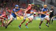 21 May 2017; Stephen McDonnell of Cork in action against John McGrath of Tipperary during the Munster GAA Hurling Senior Championship Semi-Final match between Tipperary and Cork at Semple Stadium in Thurles, Co Tipperary. Photo by Brendan Moran/Sportsfile