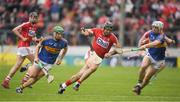 21 May 2017; Christopher Joyce of Cork in action against Noel McGrath, left, and Niall O'Meara of Tipperary during the Munster GAA Hurling Senior Championship Semi-Final match between Tipperary and Cork at Semple Stadium in Thurles, Co Tipperary. Photo by Brendan Moran/Sportsfile