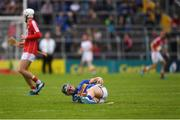21 May 2017; Cathal Barrett of Tipperary, who went off injured, during the Munster GAA Hurling Senior Championship Semi-Final match between Tipperary and Cork at Semple Stadium in Thurles, Co Tipperary. Photo by Ray McManus/Sportsfile