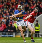 21 May 2017; Brendan Maher of Tipperary in action against Damian Cahalane of Cork during the Munster GAA Hurling Senior Championship Semi-Final match between Tipperary and Cork at Semple Stadium in Thurles, Co Tipperary. Photo by Ray McManus/Sportsfile