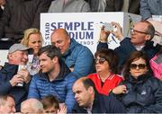 21 May 2017; Kilkenny manager Brian Cody in conversation with Waterford manager Derek McGrath as Minister for Housing, Planning, Community and Local Government Simon Coveney, T.D. takes a picture before the Munster GAA Hurling Senior Championship Semi-Final match between Tipperary and Cork at Semple Stadium in Thurles, Co Tipperary. Photo by Ray McManus/Sportsfile