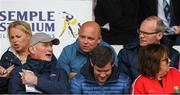 21 May 2017; Kilkenny manager Brian Cody, bottom left, in conversation with Waterford manager Derek McGrath as Minister for Housing, Planning, Community and Local Government Simon Coveney, T.D. looks on before the Munster GAA Hurling Senior Championship Semi-Final match between Tipperary and Cork at Semple Stadium in Thurles, Co Tipperary. Photo by Ray McManus/Sportsfile