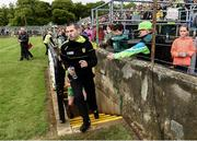 21 May 2017; Donegal manager Rory Gallagher before the Ulster GAA Football Senior Championship Quarter-Final match between Donegal and Antrim at MacCumhaill Park in Ballybofey, Co Donegal. Photo by Oliver McVeigh/Sportsfile