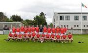 21 May 2017; The Louth squad before the Leinster GAA Football Senior Championship Round 1 match between Louth and Wicklow at Parnell Park in Dublin. Photo by Piaras Ó Mídheach/Sportsfile