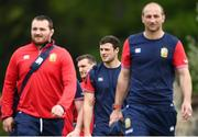 22 May 2017; Robbie Henshaw of British and Irish Lions arrives for squad training at Carton House in Maynooth, Co Kildare. Photo by Ramsey Cardy/Sportsfile