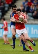 21 May 2017; Tommy Durnin of Louth in action against Niall Gaffney of Wicklow during the Leinster GAA Football Senior Championship Round 1 match between Louth and Wicklow at Parnell Park in Dublin. Photo by Piaras Ó Mídheach/Sportsfile