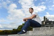 22 May 2017; Robbie Henshaw of British and Irish Lions poses for a portrait following a press conference at Carton House in Maynooth, Co Kildare. Photo by Ramsey Cardy/Sportsfile