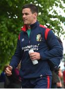 22 May 2017; Jonathan Sexton of British and Irish Lions arrives for squad training at Carton House in Maynooth, Co. Kildare. Photo by Ramsey Cardy/Sportsfile