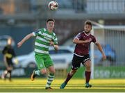 22 May 2017; Ronan Finn of Shamrock Rovers in action against Alex Byrne of Galway United during the SSE Airtricity League Premier Division match between Shamrock Rovers and Galway United at Tallaght Stadium in Dublin. Photo by Piaras Ó Mídheach/Sportsfile