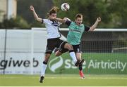 23 May 2017; Niclas Vemmelund of Dundalk in action against Ronan Curtis of Derry City during the SSE Airtricity League Premier Division match between Dundalk and Derry City at Oriel Park, Dundalk, Co. Louth. Photo by David Maher/Sportsfile