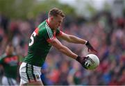 21 May 2017; Danny Kirby of Mayo during the Connacht GAA Football Senior Championship Quarter-Final match between Mayo and Sligo at Elvery's MacHale Park in Castlebar, Co Mayo. Photo by Stephen McCarthy/Sportsfile