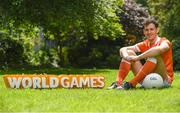 24 May 2017; In attendance at the GAA and the DFA launch of The 2017 Global Games Development Fund at Iveagh House is Jamie Clarke of Armagh. St. Stephen's Green, Dublin. Photo by Sam Barnes/Sportsfile