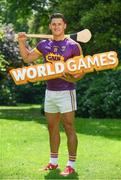 24 May 2017; In attendance at the GAA and the DFA launch of The 2017 Global Games Development Fund at Iveagh House is Lee Chin of Wexford. St. Stephen's Green, Dublin. Photo by Sam Barnes/Sportsfile