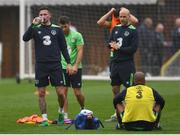 25 May 2017; Alan Browne of Republic of Ireland during squad training at Fota Island in Cork. Photo by Eóin Noonan/Sportsfile