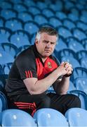 25 May 2017; Mayo manager Stephen Rochford poses for a portrait during the Mayo Football Press Night at Elverys MacHale Park, in Castlebar, Co. Mayo. Photo by Seb Daly/Sportsfile