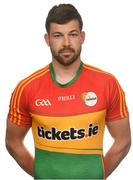 25 May 2017; Daniel St Ledger of Carlow. Carlow Football Squad Portraits 2017 at O'Moore Park in Portlaoise, Co Laois. Photo by Eóin Noonan/Sportsfile