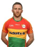 25 May 2017; Chris Crowley of Carlow. Carlow Football Squad Portraits 2017 at O'Moore Park in Portlaoise, Co Laois. Photo by Eóin Noonan/Sportsfile