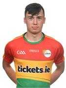 25 May 2017; Darren Lunney of Carlow. Carlow Football Squad Portraits 2017 at O'Moore Park in Portlaoise, Co Laois. Photo by Eóin Noonan/Sportsfile