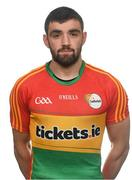 25 May 2017; Sean Murphy of Carlow. Carlow Football Squad Portraits 2017 at O'Moore Park in Portlaoise, Co Laois. Photo by Eóin Noonan/Sportsfile