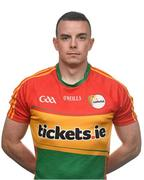 25 May 2017; Barry John Molloy of Carlow. Carlow Football Squad Portraits 2017 at O'Moore Park in Portlaoise, Co Laois. Photo by Eóin Noonan/Sportsfile